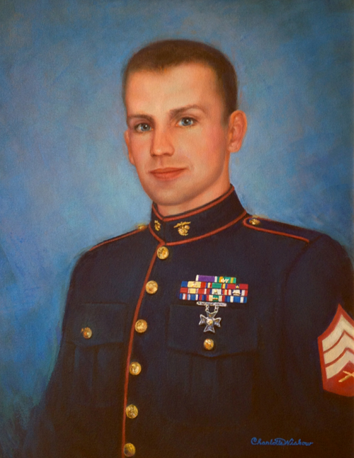 Fallen Hero SGT Chad D. Frokjer, United States Marines
