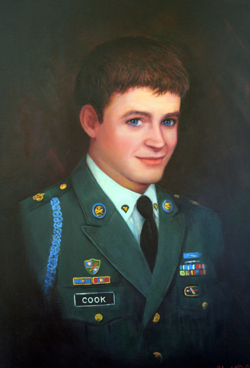 Fallen Hero Spc. Sean Cook, United States Army Ranger